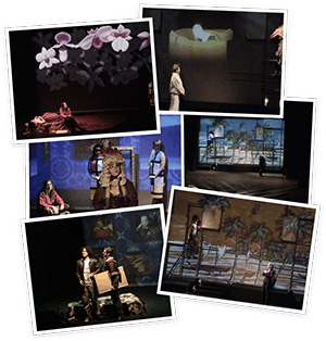 Scenes from an Execution - projection design; 2004